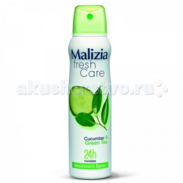Косметика для мамы Malizia Дезодорант-антиперспирант женский Fresh Care Cucumber&Green tea 150 мл дезодорант garnier термозащита женский