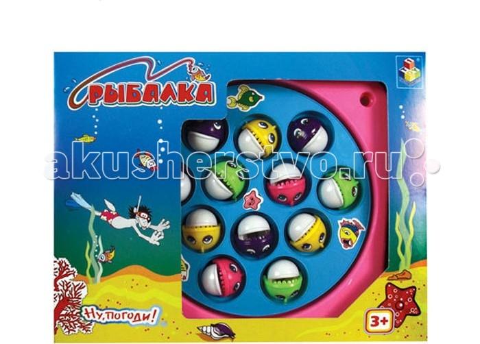 Игрушки для ванны 1 Toy Игра рыбалка Т52138 игрушки для ванны tolo toys рыбалка магнитная