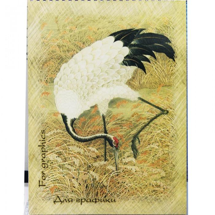 Принадлежности для рисования Палаццо Блокнот для графики на гребне Журавль А4 20 листов бумага для пастели 20 листов а3 4 089