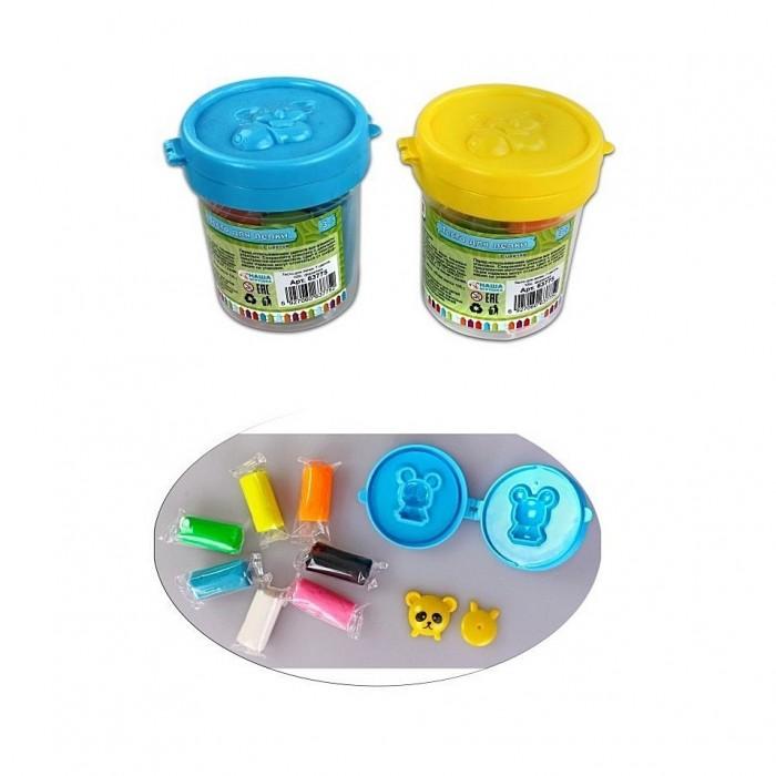 Всё для лепки Color Puppy Тесто для лепки 7 цветов 105 г формочка color puppy тесто для лепки 26 цветов 442г формы ролик