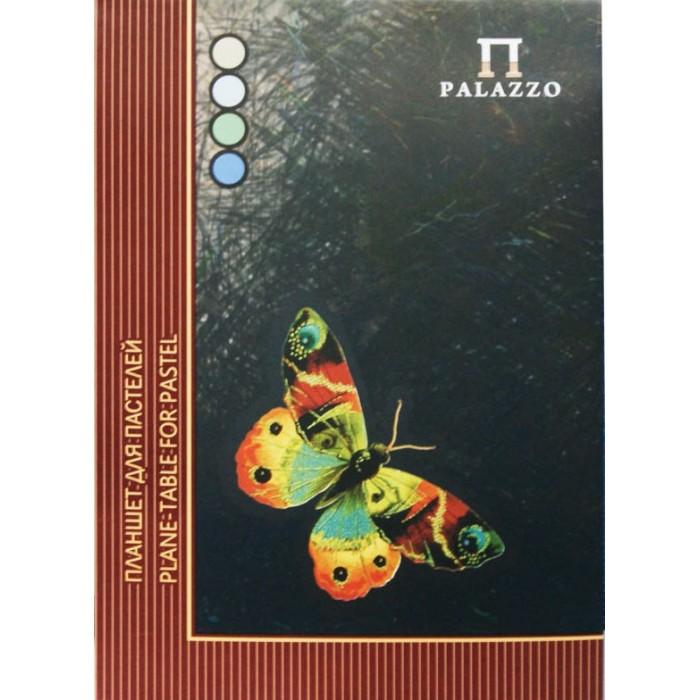 Принадлежности для рисования Палаццо Планшет для пастели Бабочка А4 4 цвета 20 листов принадлежности для рисования палаццо блокнот для эскизов котенок а5 50 листов