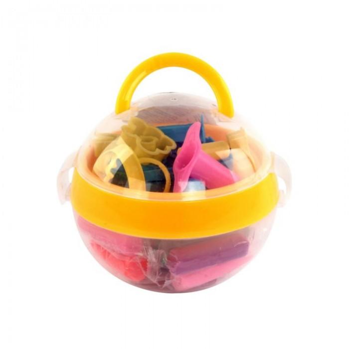 Всё для лепки Color Puppy Тесто для лепки 16 цветов 272 г формочки color puppy тесто для лепки 26 цветов 442г формы ролик