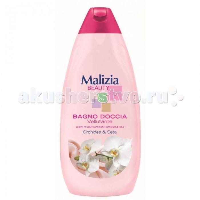 детская косметика malizia гель для душа baby 300 мл Косметика для мамы Malizia Гель для душа Beauty орхидея и шелк 500 мл
