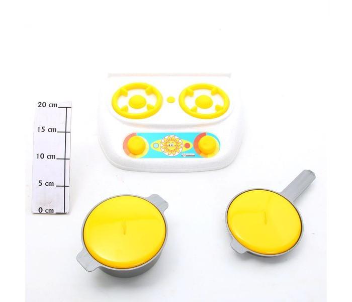 Ролевые игры Спектр Игра Детский кухонный набор Плита газовая, кастрюля, сковорода