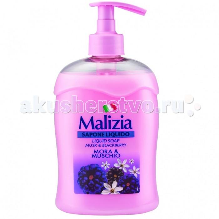 Косметика для мамы Malizia Жидкое мыло мускус и ежевика Fresca Vitalita 500 мл косметика для мамы molecola экологичное жидкое мыло для рук освежающий ананас 500 мл