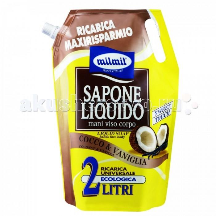 Косметика для мамы Malizia Жидкое мыло Fresca Vitalita Coconut&Vanilla 2 л мыло жидкое mon platin мыло жидкое ароматическое