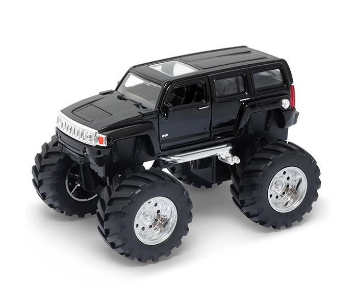 Машины Welly Модель машины 1:34-39 Hammer H3 Big Wheel welly hummer h3 1 34 39