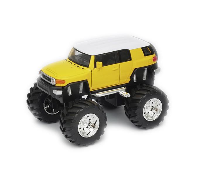 Машины Welly Модель машины 1:34-39 Toyota FJ Cruiser Big Wheel машины welly модель машины 1 34 39 toyota land cruiser prado