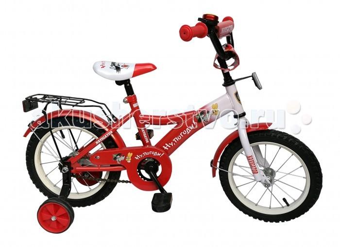 Велосипед двухколесный Navigator Ну, Погоди Kite-тип 14Ну, Погоди Kite-тип 14Велосипед двухколесный Navigator Ну, Погоди Kite-тип 14 подарит радость вашему ребенку.   Особенности:  Однокомпонентный кареточный узел Камеры из натуральной резины Стальные обода Покрышки 14 х 2,125 Задний ножной тормоз Вставки в колесах Широкие страховочные колеса Звонок Возраст от 4 до 6 лет<br>