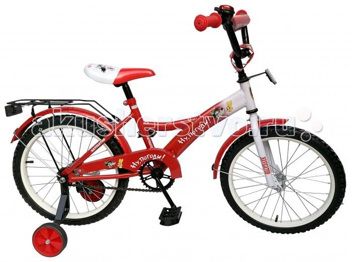 Двухколесные велосипеды Navigator Ну, Погоди Kite-тип 18 развивающая игрушка 1toy ну погоди 1toy ну погоди музыкальные инструменты в барабане