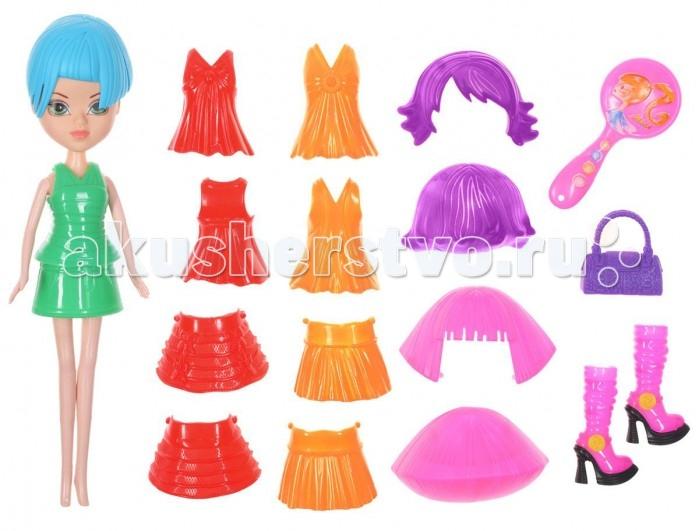 Куклы и одежда для кукол 1 Toy Игровой набор Красотка Фэшн Т57134 1toy кукла красотка фэшн с одеждой цвет платья оранжевый
