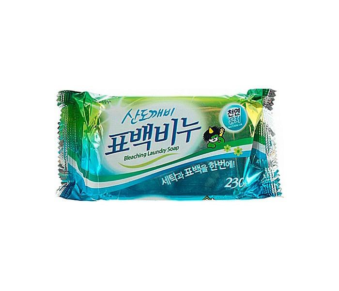 Бытовая химия Sandokkaebi Хозяйственное мыло для стирки Отбеливающее 230 г