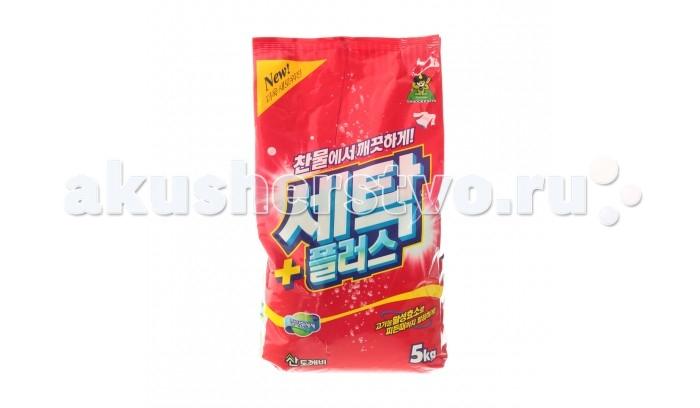 Бытовая химия Sandokkaebi Se-Plus Стиральный порошок мягкая упаковка 5 кг стиральный порошок для ручной стирки пемос 350 г