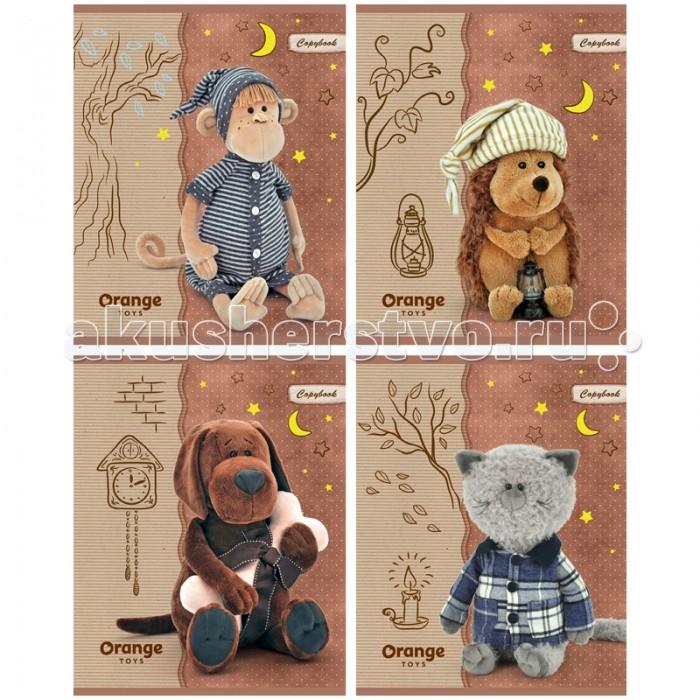 Тетради БиДжи Тетрадь Orange Life - Сонные игрушки Матовая ламинация А5 (40 листов) игрушки orange коза марфуша