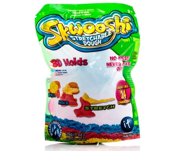 Всё для лепки Skwooshi Пакетик с формочкой и массой для лепки 28 г skwooshi набор для лепки с аксессуарами бургер