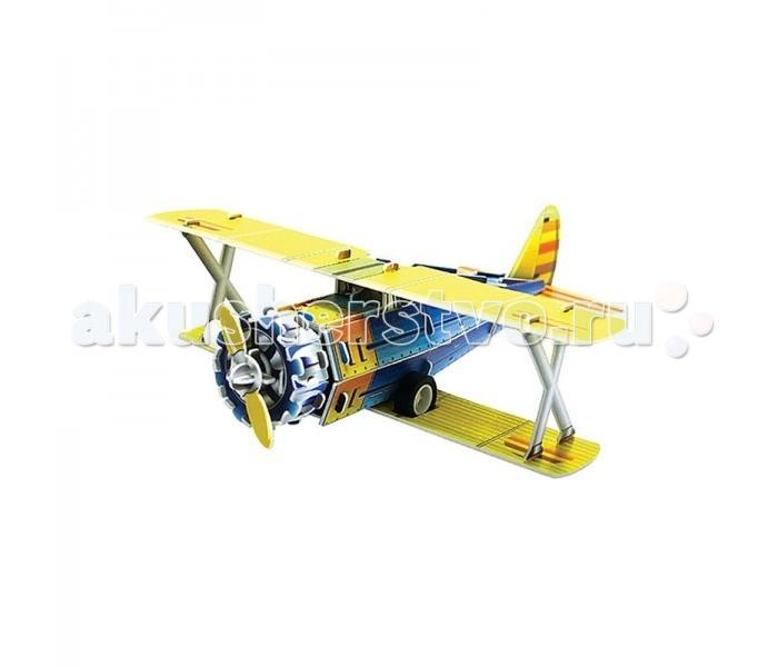 Пазлы IQ 3D Пазл Классический истребитель F41-B инерционный 38 элементов пазлы magic pazle объемный 3d пазл эйфелева башня 78x38x35 см