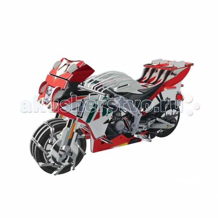 Пазлы IQ 3D Пазл Мотоцикл RGV-250 инерционный 39 элементов пазлы iq 3d пазл пизанская башня