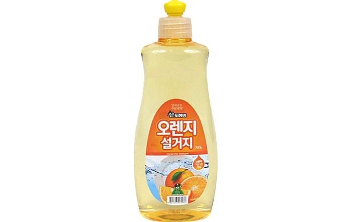 Бытовая химия Sandokkaebi Средство для мытья посуды Апельсин флакон 500 г средство для мытья посуды миф с ароматом лаванды 500 мл