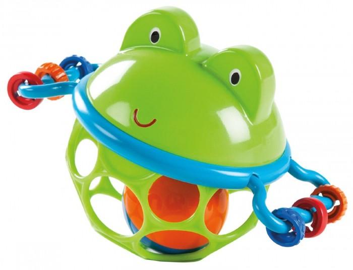 Погремушки Oball Развивающая игрушка-мяч Лягушонок игрушки интерактивные globo развивающая игрушка