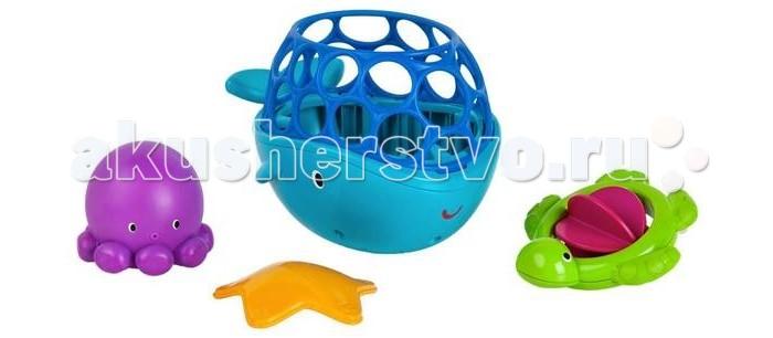 Игрушки для ванны Oball Игрушки для ванны Морские друзья цена