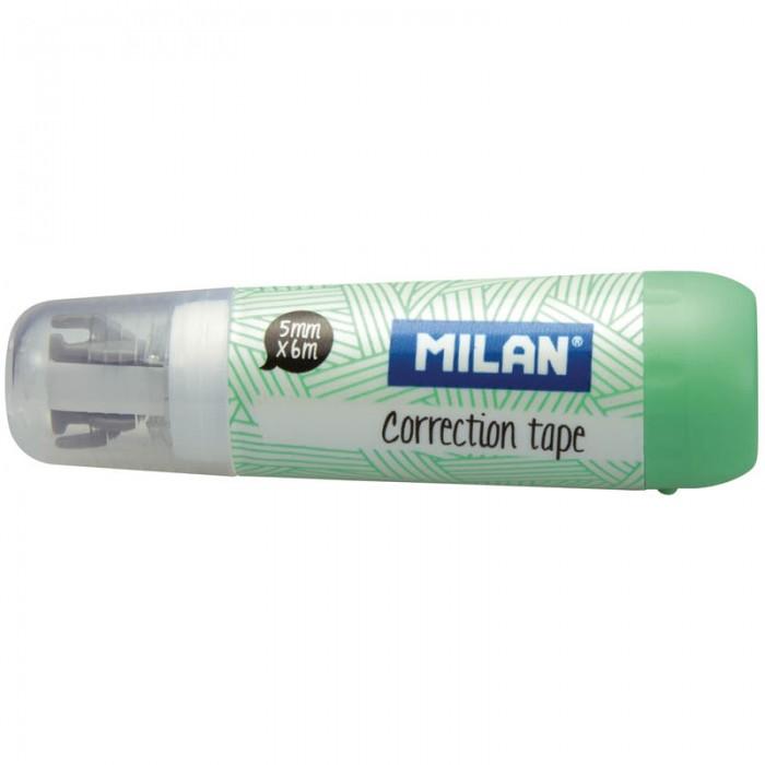 Канцелярия Milan Корректирующая лента 5 мм 6 м tukzar корректирующая лента retype