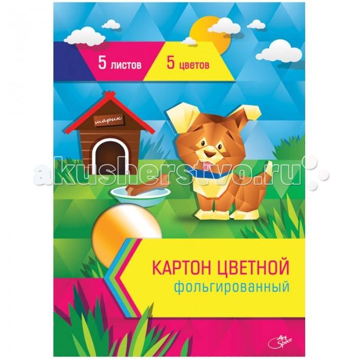 Канцелярия Спейс Картон цветной А4 5 цветов фольгированный в папке с европодвесом 5 листов legrand 61765 page 2