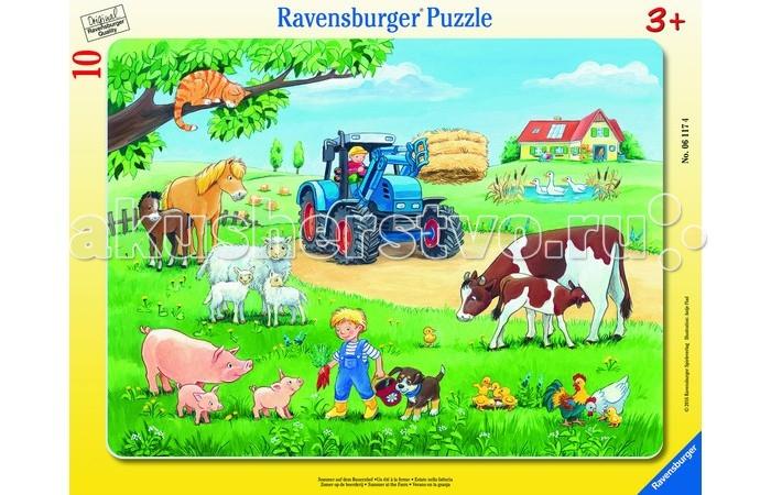 пазлы ravensburger пазл колизей 300 элементов Пазлы Ravensburger Пазл Лето в деревне 10 элементов