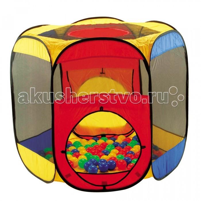 Купить Палатки-домики, Calida Дом-палатка + 100 шаров Многоугольник