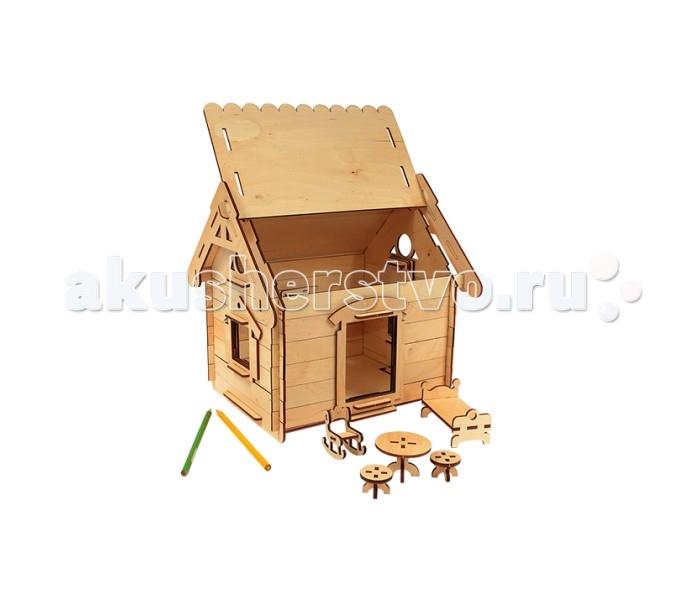Конструкторы Woody Мой дом конструкторы clever мой маленький конструктор тетрадь домашние животные