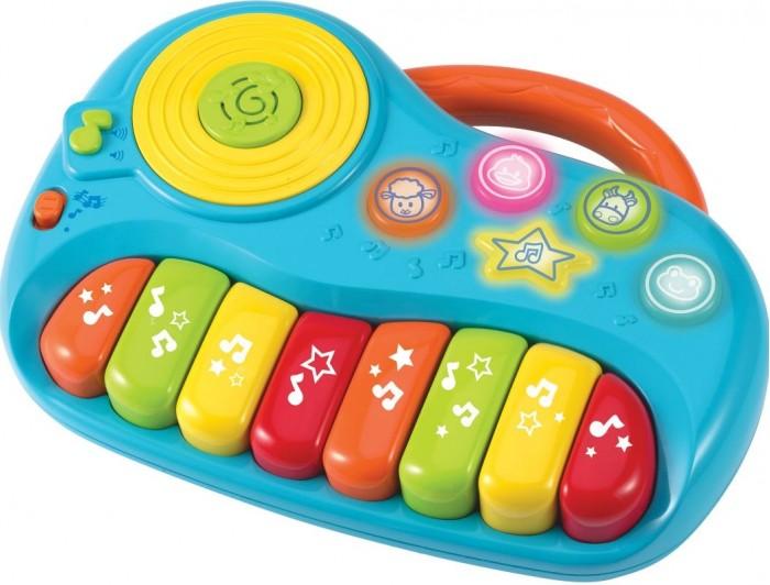 Музыкальные игрушки Winfun Пианино маленькое развивающее от 12 мес. банкетку для пианино в новокузнецке