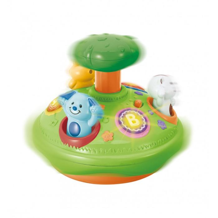 Развивающие игрушки Winfun Юла свет и звук развивающие игрушки winfun телефон музыкальный развивающий