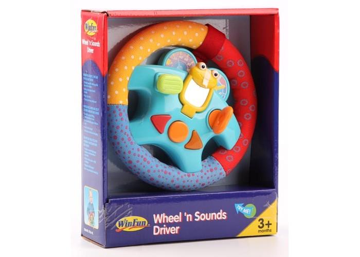 Развивающие игрушки Winfun Руль с 3 мес. развивающие игрушки winfun телефон музыкальный развивающий