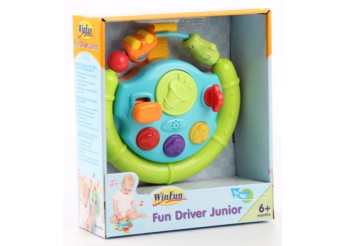 Развивающие игрушки Winfun Руль с 6 мес. развивающие игрушки winfun телефон музыкальный развивающий