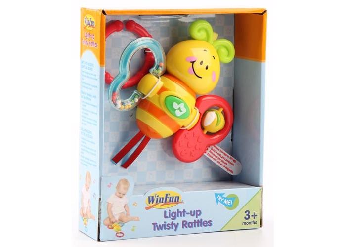 Подвесные игрушки Winfun Бабочка развивающие игрушки winfun телефон музыкальный развивающий