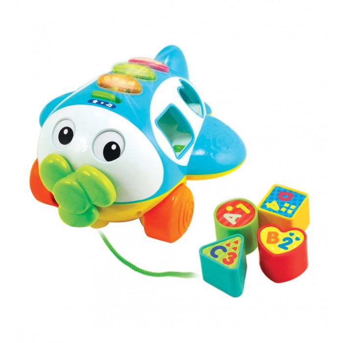 Каталки-игрушки Winfun Сортер свет и звук развивающие игрушки winfun телефон музыкальный развивающий
