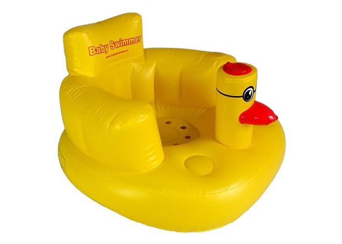 Купание малыша , Горки и сидения для ванн Baby Swimmer Надувное кресло для детей арт: 185512 -  Горки и сидения для ванн