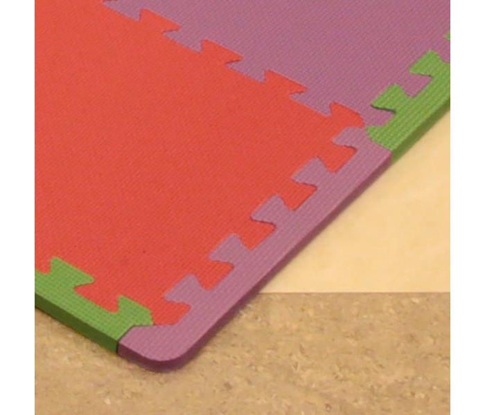 Игровые коврики FunKids Бордюр угловой для ковриков пазлов 12 4 шт. игровые коврики funkids бордюр обычный 12 для ковриков пазлов