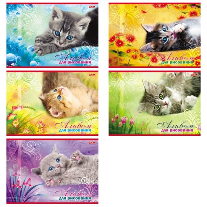 Принадлежности для рисования Hatber Альбом для рисования 20 листов Котята принадлежности для рисования hatber альбом для рисования 16 листов верные друзья