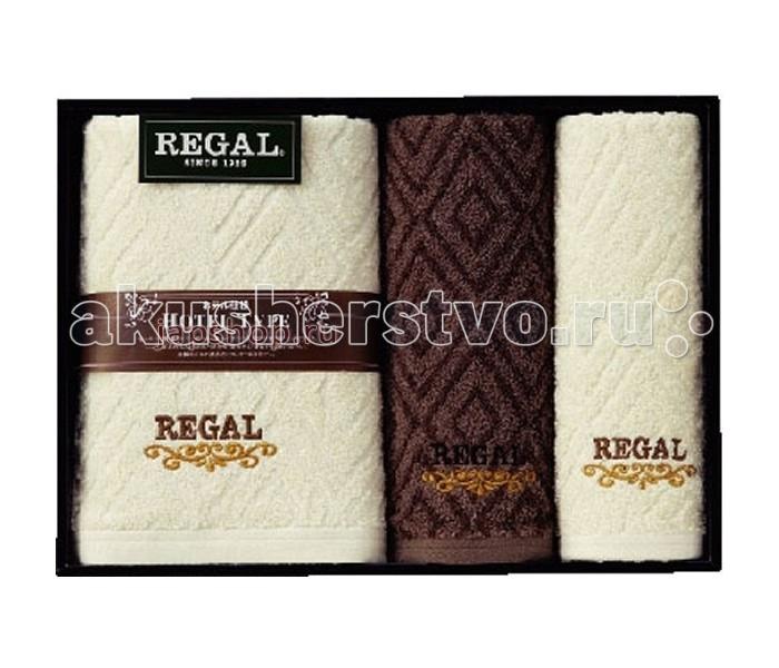 Honda Towel Набор полотенец в подарочной упаковке Regal 3 шт.Набор полотенец в подарочной упаковке Regal 3 шт.Honda Towel Набор полотенец в подарочной упаковке Regal  - серия полотенец, основанная на сочетании американских традиций и японского качества. Великолепно впитывают влагу.    Элегантные полотенца REGAL подарят Вам незабываемые ощущения чистоты и комфорта, станут прекрасным украшением ванной комнаты.  60х120см. 1шт.,  34х80 см. 2шт.<br>