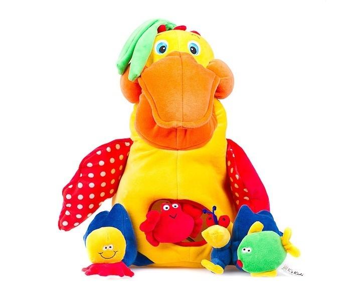 Развивающие игрушки KS Kids Голодный пеликан с игрушками