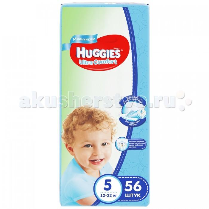 Подгузники Huggies Подгузники Ultra Comfort Mega для мальчиков 5 (12-22 кг) 56 шт. sintec antifreeze ultra g11 где в перми
