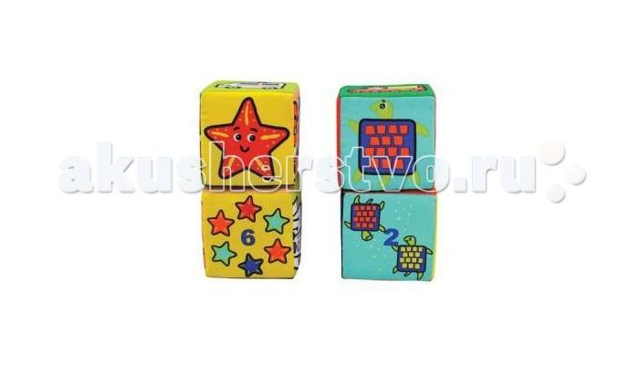 Развивающие игрушки KS Kids Кубики развивающие игрушки ks kids музыкальный кубик