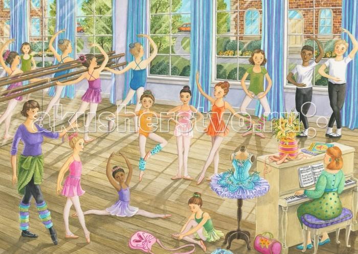 Пазлы Ravensburger Пазл Урок балета 35 элементов ravensburger пазл очаровательная дора 35 элементов