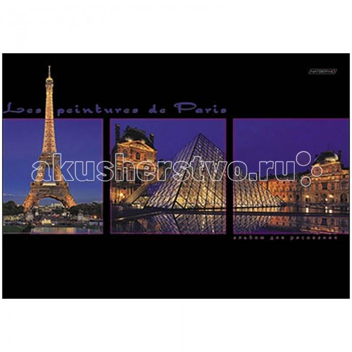 Принадлежности для рисования Hatber Альбом для рисования 48 листов HD Окна Парижа принадлежности для рисования hatber альбом для рисования 16 листов верные друзья