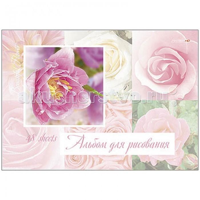 Принадлежности для рисования Hatber Альбом для рисования 48 листов HD Прекрасные цветы принадлежности для рисования hatber альбом для рисования 16 листов верные друзья