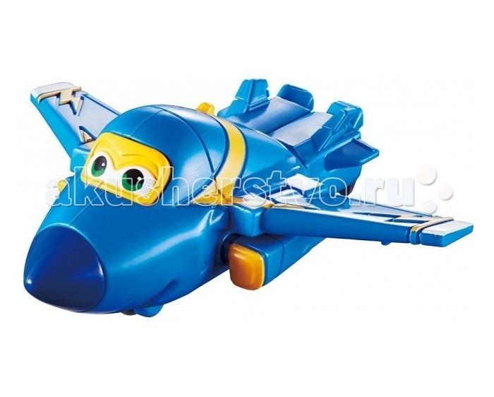 Вертолеты и самолеты Super Wings Мини-трансформер Джером инерционный самолет джером супер крылья