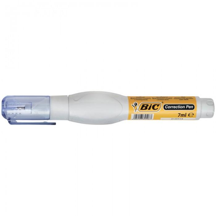 Канцелярия BIC Корректирующий карандаш металлический наконечник 7 мл milan корректирующий карандаш 5 мл