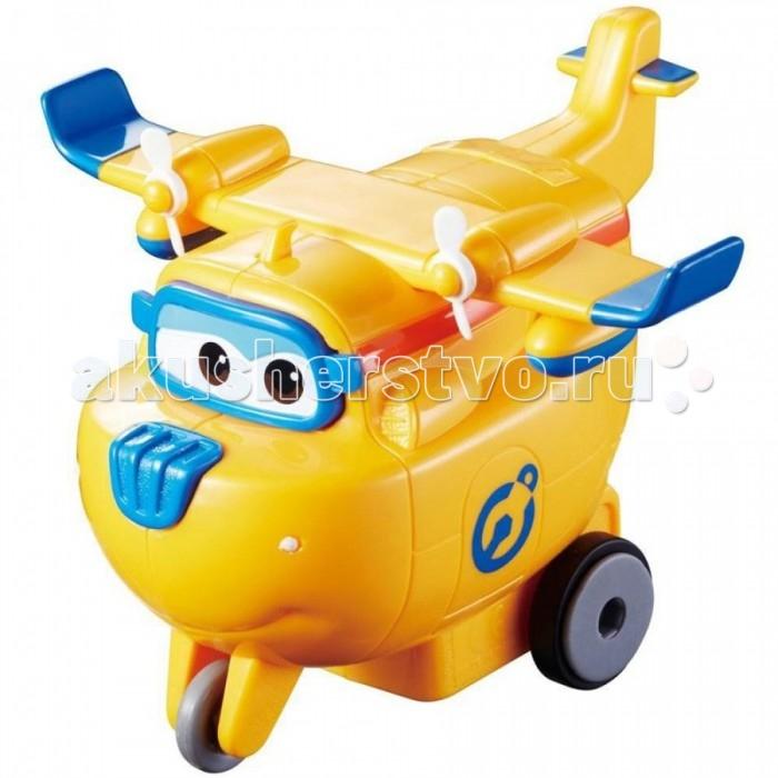 Вертолеты и самолеты Super Wings Инерционный самолет Донни вертолеты и самолеты green toys самолет