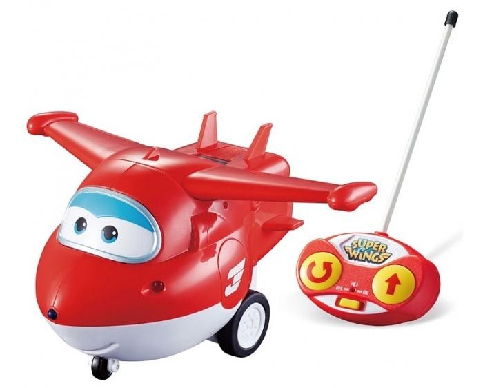 Вертолеты и самолеты Super Wings Самолет Джетт на радиоуправлении pilotage самолет на радиоуправлении super cub rtf цвет белый красный