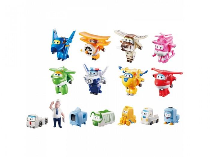Super Wings Набор Команда Аэропорта 8 мини-трансформеров и 7 фигурокНабор Команда Аэропорта 8 мини-трансформеров и 7 фигурокНабор Команда Аэропорта 8 мини-трансформеров и 7 фигурок  Чтобы ребенок без труда смог воспроизвести любимые сценки из мультфильма «Супер Крылья», ему просто необходим этот набор.   В нем представлены почти все герои, а также второстепенные персонажи и даже работник аэропорта. Поэтому можно смело придумать сюжет о новых приключениях отважных самолётов, развивая при этом фантазию и воображение.<br>